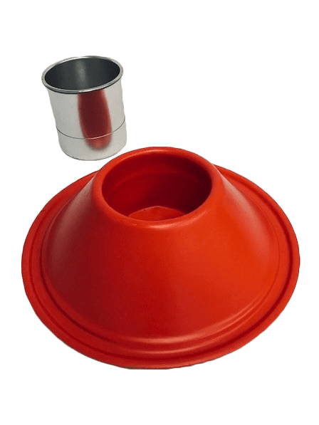 PET - Custom Thick Gauge Red Stand