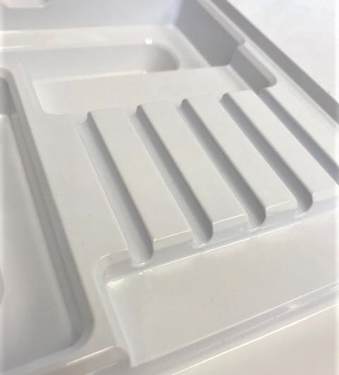 PET - Custom Medical Device Shipping Tray