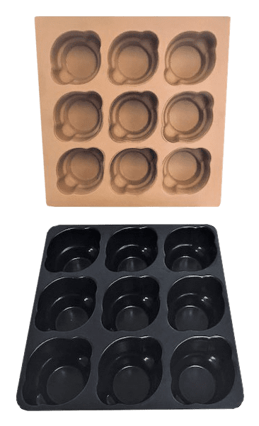 REN Cupcake Mold and Prototype Tray
